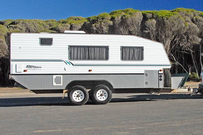 Wonderful 18 Foot 2004 Build Bushtracker Off Road Built To Suit A Couple  IF YOU ARE LOOKING FOR THE BEST BUILT CARAVAN IN THE INDUSTRY, AND ONE IN WHICH YOU CAN LIVE COMPLETELY INDEPENDANTLY, THEN THIS